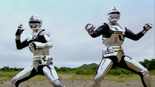 Space Sheriff Gavan Retsu Geki Team Up