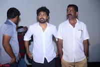 Poojita Super Cute Smile in Blue Top black Trousers at Darsakudu press meet ~ Celebrities Galleries 002.JPG