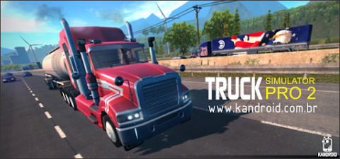 Truck Simulator PRO 2 v1.5.8 Apk + Data Full