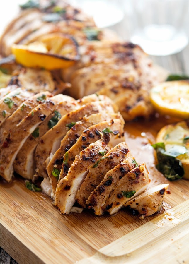 Spicy Basil Lemon Chicken