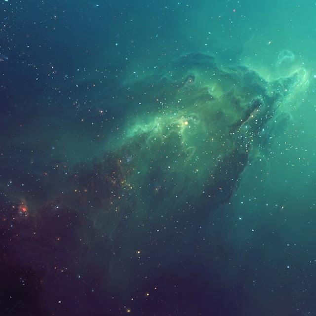 Galactic Blue Wallpaper Engine