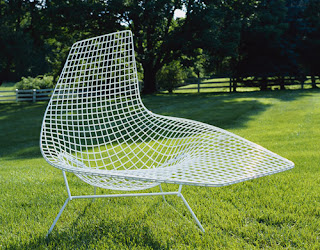 Chaise Asymmetric de Harry Bertoia