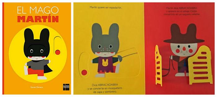 cuentos infantiles recomendados de 0 a 3 años edad el mago martin sm