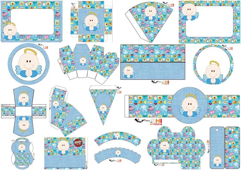 Angel para Niños: Kit para Primera Comunión para Imprimir Gratis ...