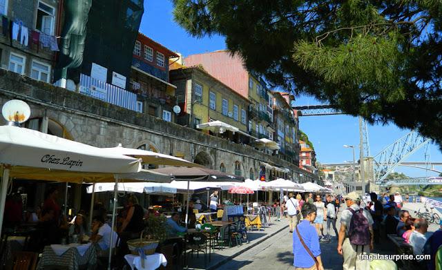 Restuarante Chez Lapin, Cais da Ribeira, Porto, Portugal