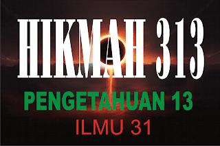 Tansformasi Ilmu 31 menjadi Hikmah 313 pada #GMT2016