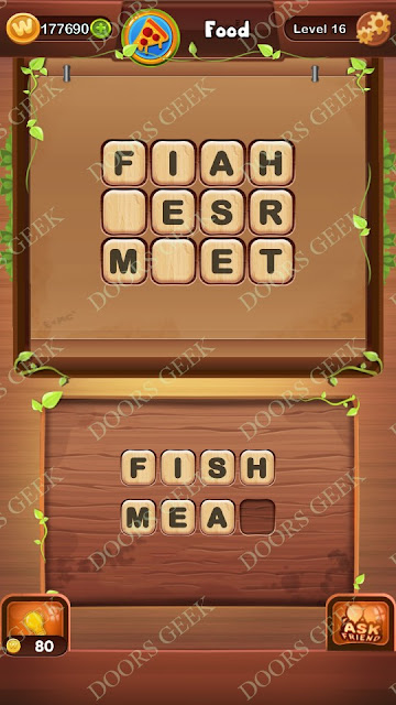 Word Bright Level 16 Answers, Cheats, Solutions, Walkthrough for android, iphone, ipad and ipod