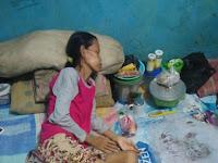Sunarsih Warga Miskin di Kp Bulak Pondok Melati Bekasi Butuh Bantuan