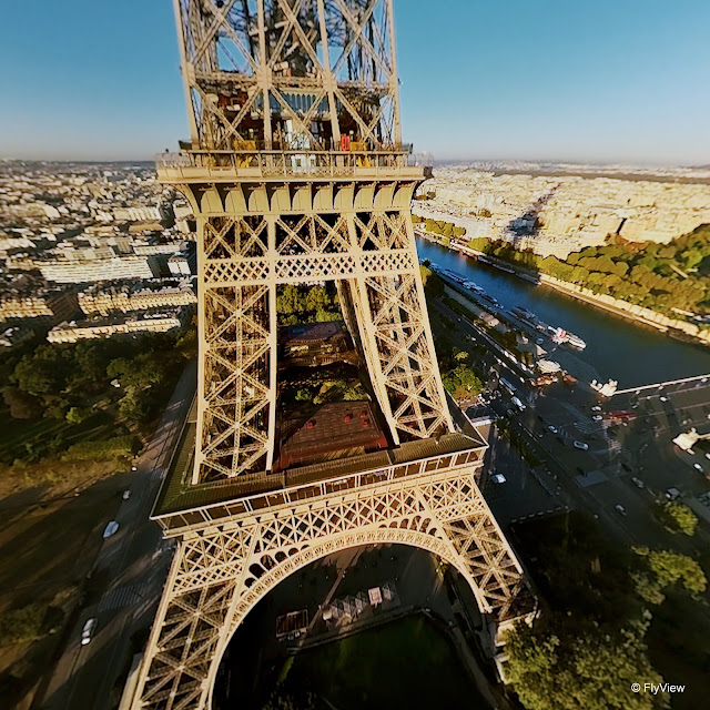 FlyViewParis - The Eiffel Tower