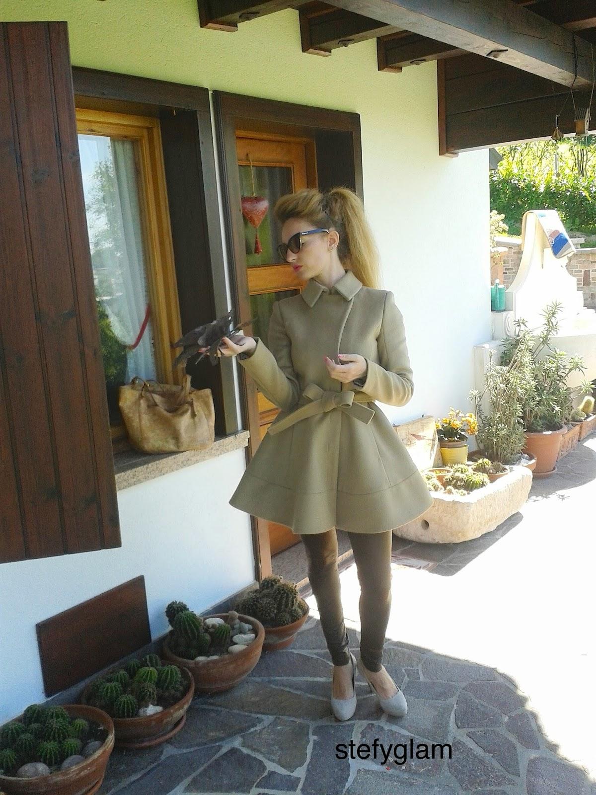 official photos 860f6 a259e vogue&beauty: Cappotto Patrizia Pepe A/I 2014-2015