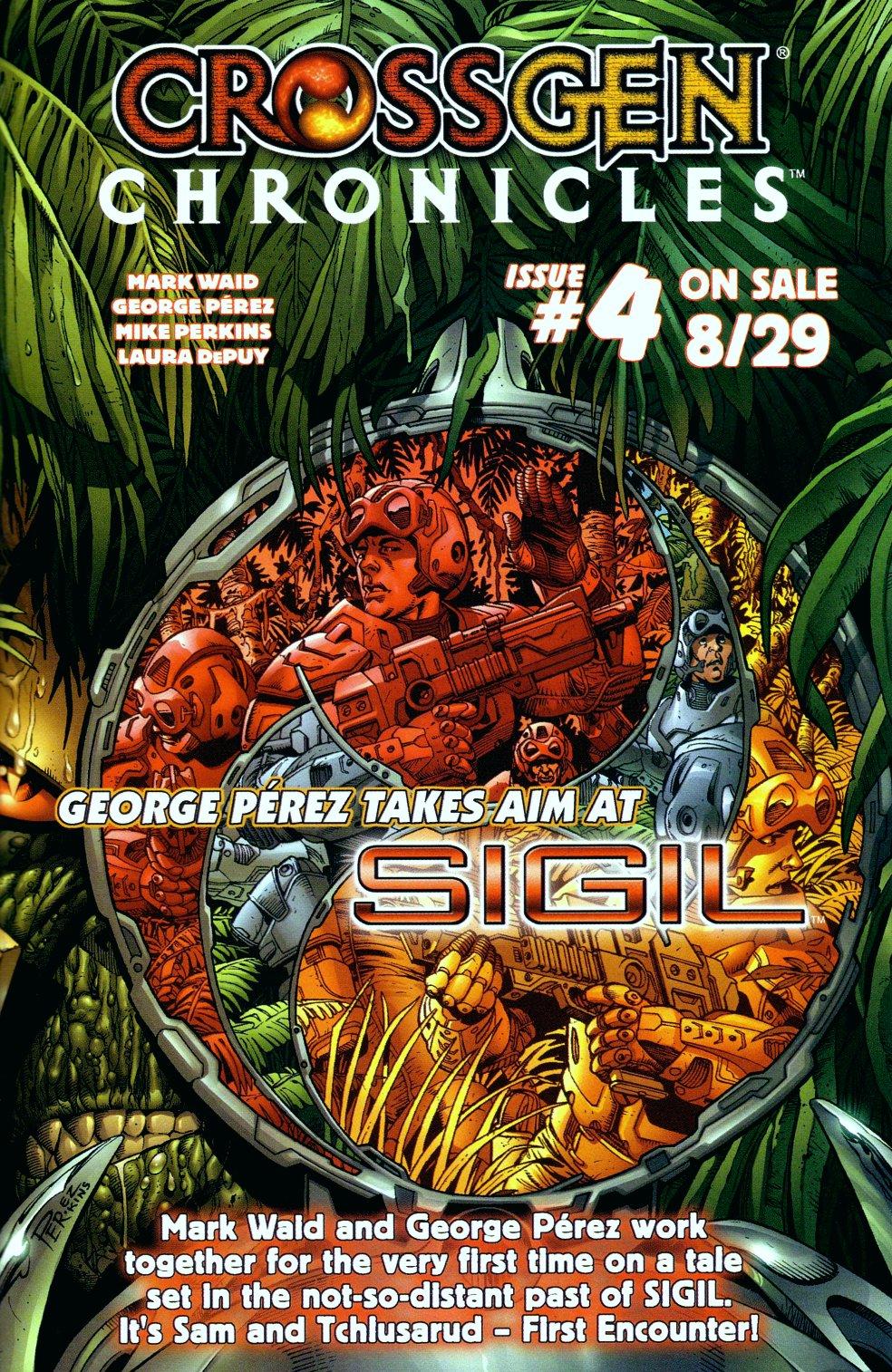 Read online Sigil (2000) comic -  Issue #14 - 27