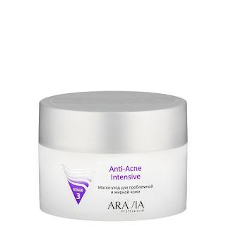 Маска-уход для проблемной и жирной кожи Anti-Acne Intensive Mask Aravia Professional