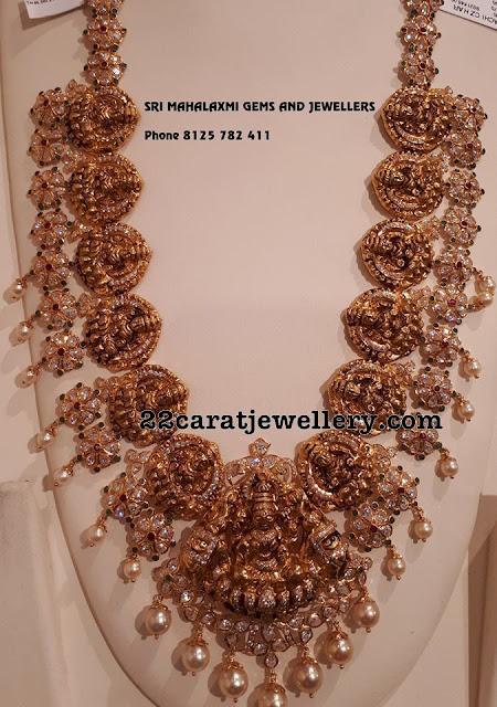 Lakshmi Floral Heavy Set