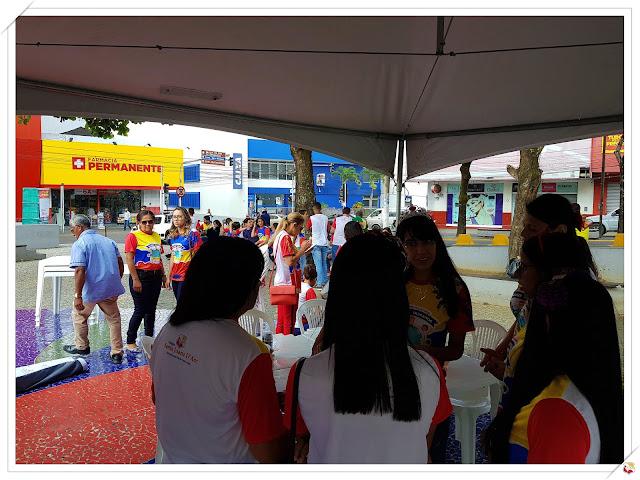 Neste sábado dia 10 de novembro o CSJD, distribui valores na Avenida Santa Antônio.
