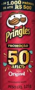 Promoção Pringles 50 Anos Cadastro Promoção
