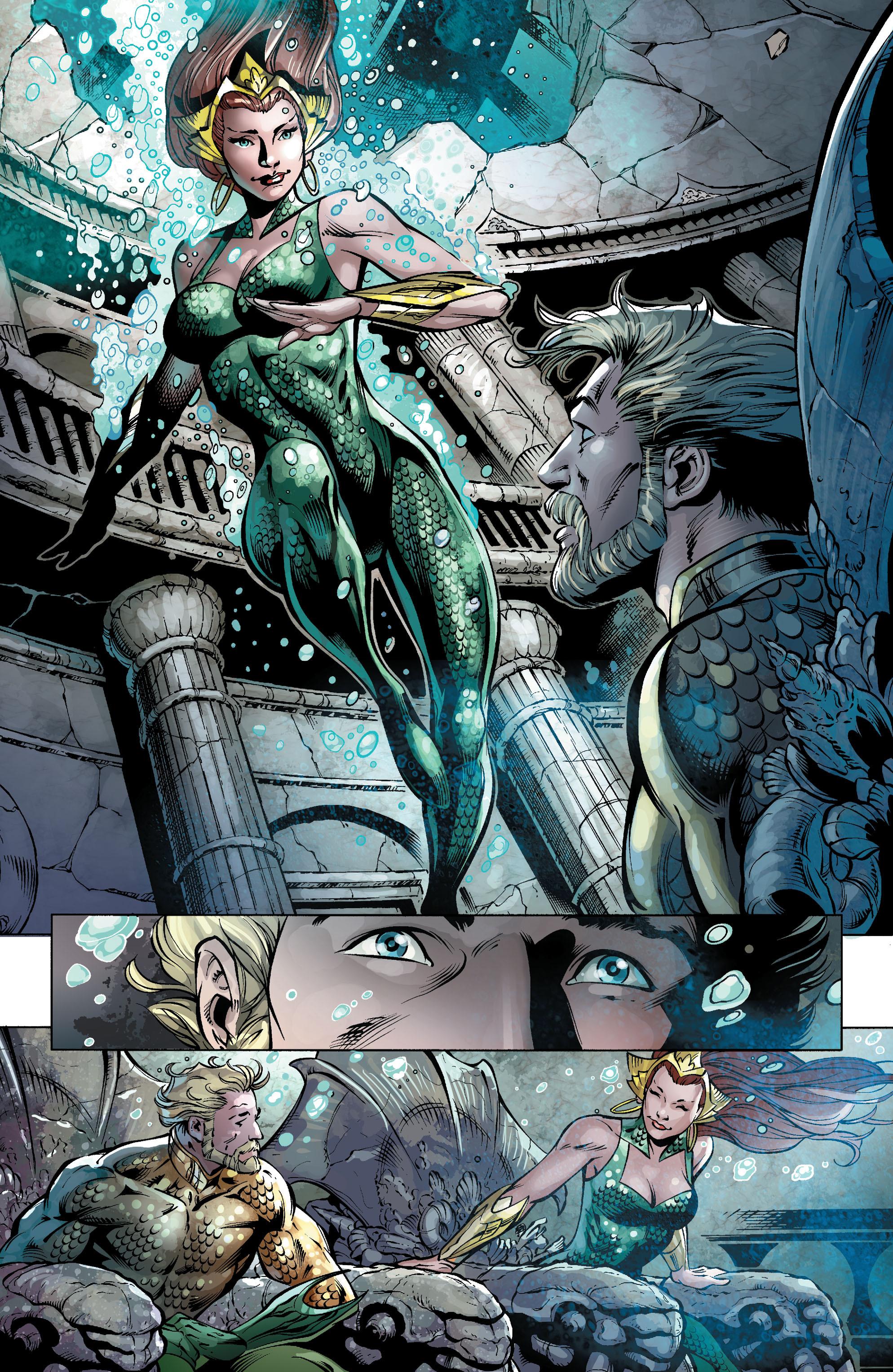 Read online Aquaman (2011) comic -  Issue #25 - 24