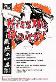 Kiss Me Quick! 1964 Watch Online