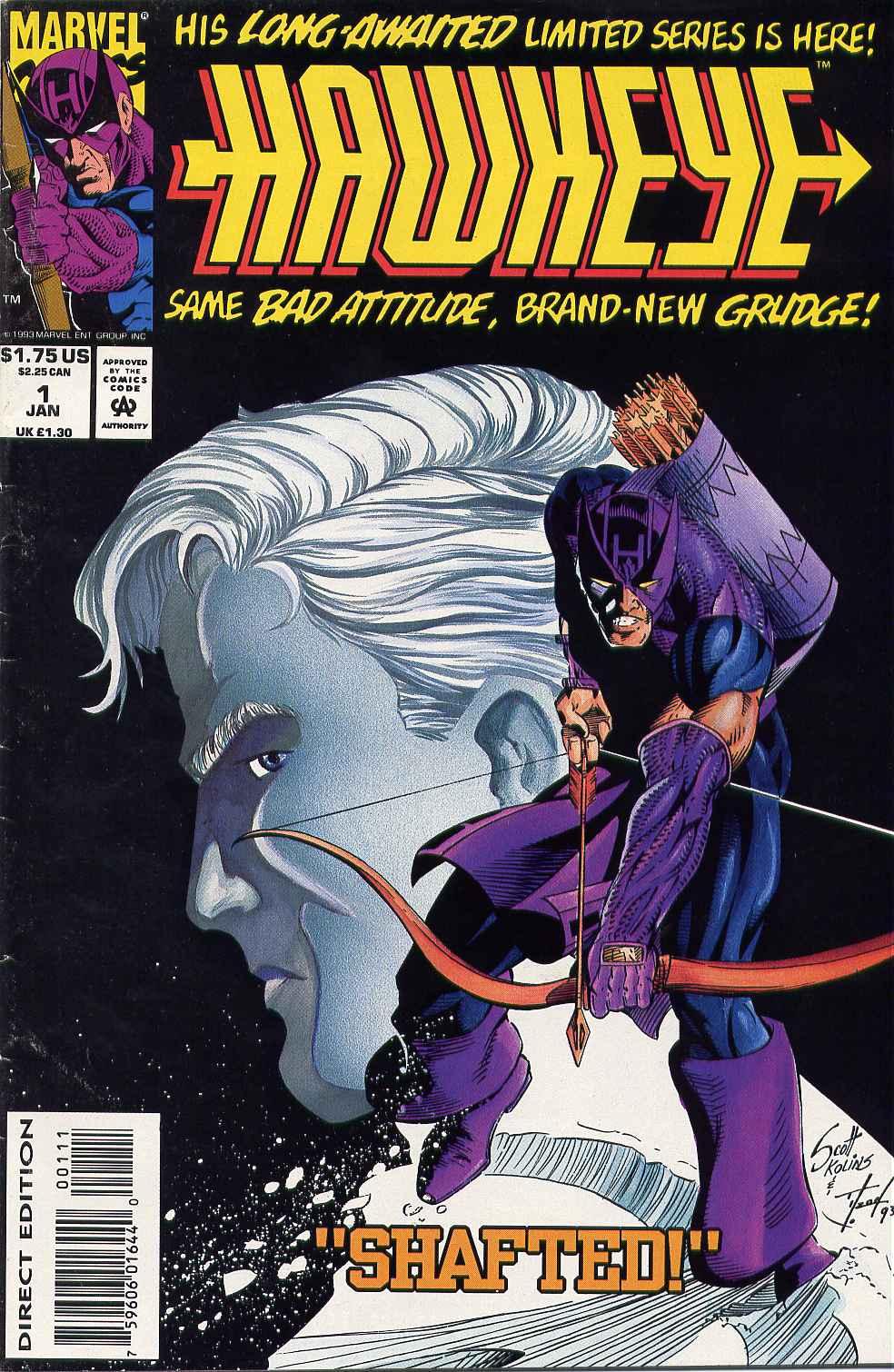 Hawkeye (1994) Issue #1 #1 - English 1