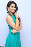 Priya Singh in a sleeveless Green Gown at Manasainodu music launch 011.08.2017 ~ Exclusive Celebrity Galleries 054.JPG