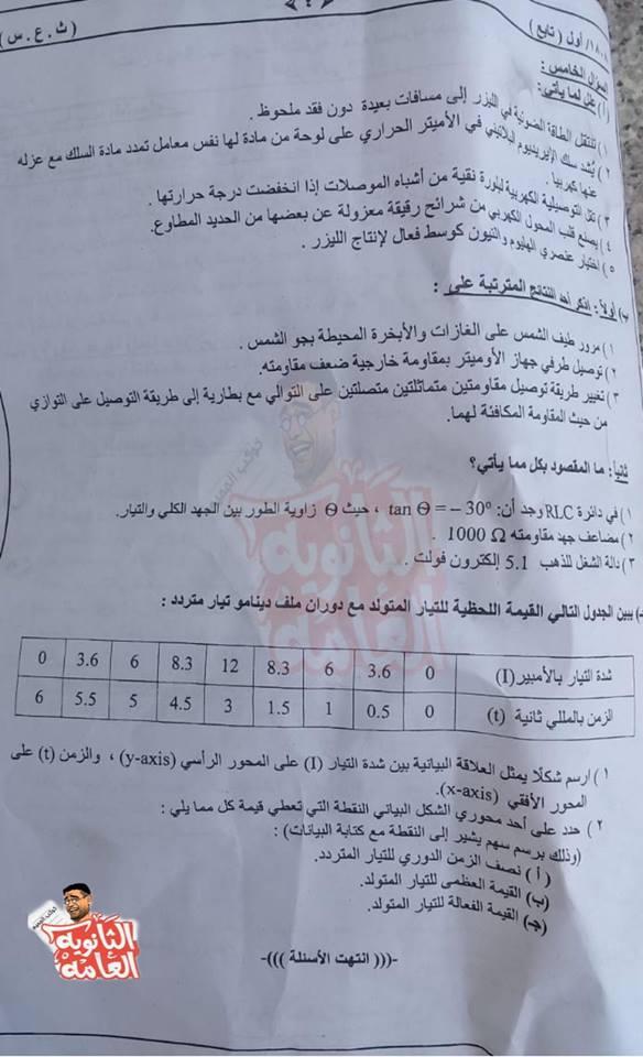 تجميع كل امتحانات السودان للصف الثالث الثانوي 2019 %25D9%2581%25D9%258A%25D8%25B2%25D9%258A%25D8%25A7%25D8%25A14