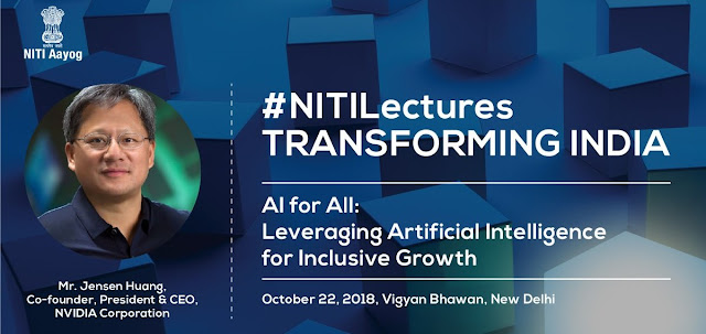 4th Edition of NITI Lecture Series to be held on 22nd October 2018