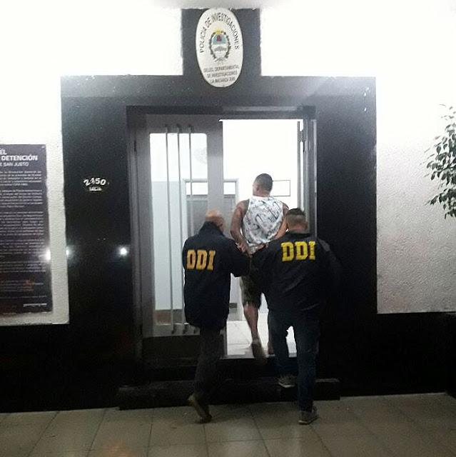 """Detienen en un auto de Alta Gama al """"Moncho de la Palito"""", jefe de la banda de piratas del asfalto que disparó siete veces contra Pamela Frías"""