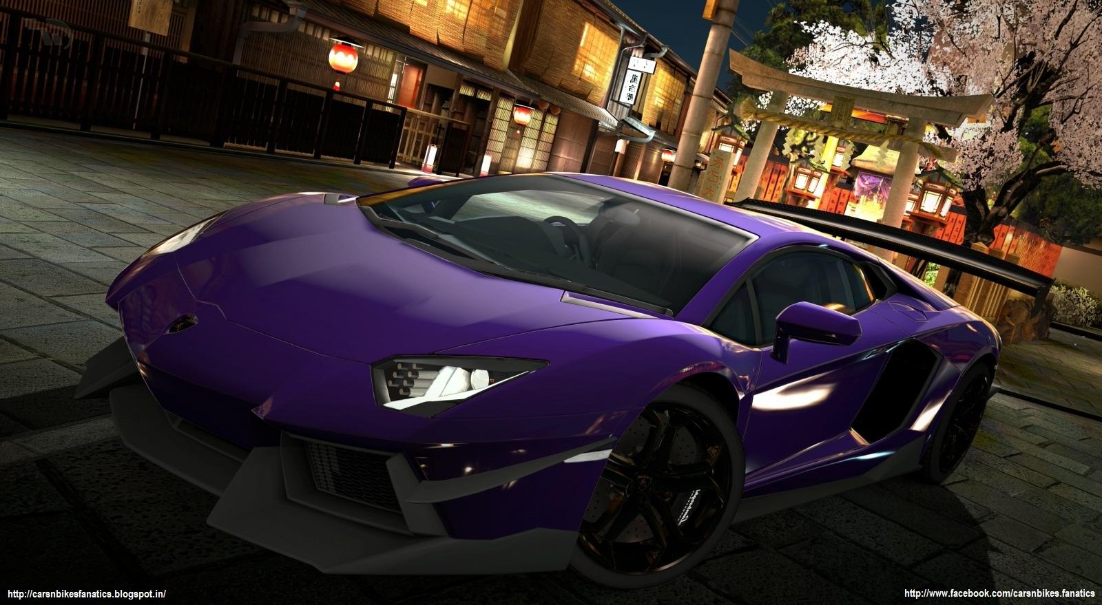 Car & Bike Fanatics: Lamborghini Aventador HD Wallpaper