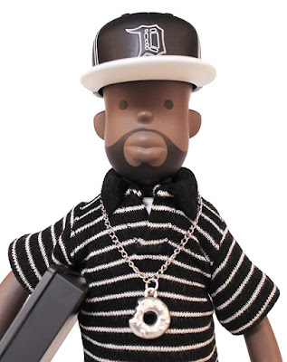 Donuts Edition J Dilla Vinyl Figure by Pay Jay