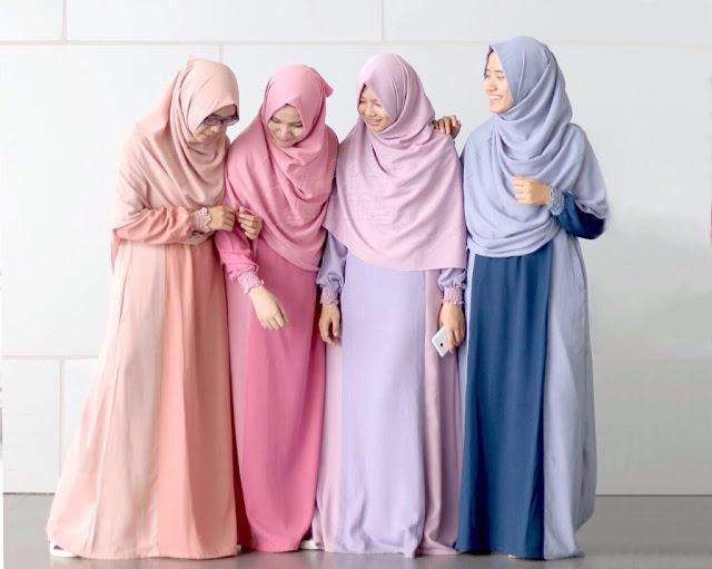 perbedaan hijab, jilbab, khimar, dan kerudung