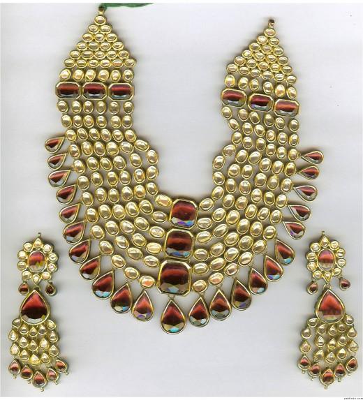 Jewelry Designs Kundan Jewelry Sets