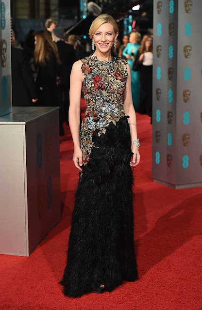 BAFTA 2016 - Red carpet - as mais bem vestidas carpete vermelha