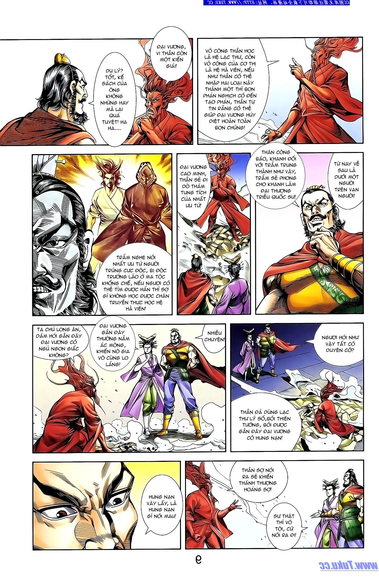 Cơ Phát Khai Chu Bản chapter 132 trang 20