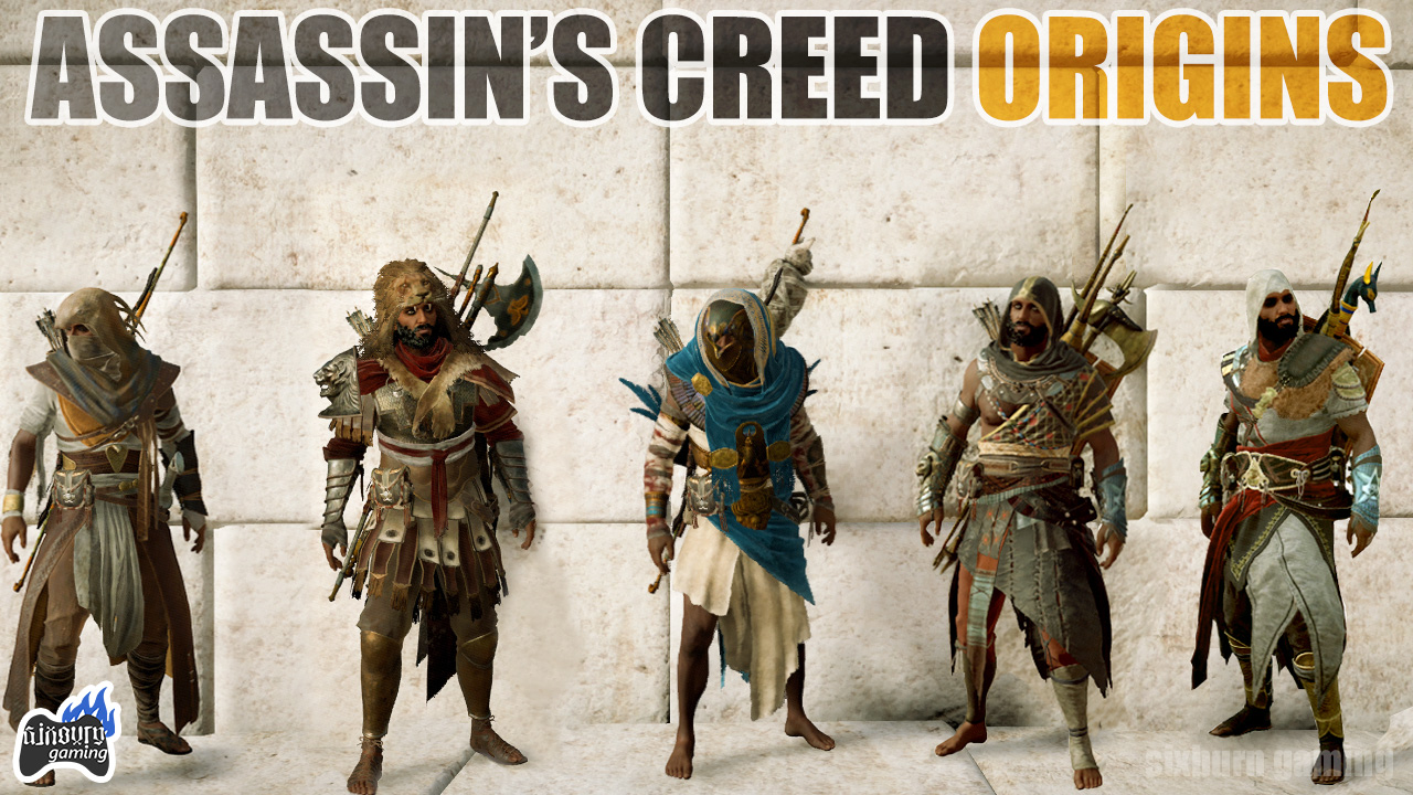 Assassin S Creed Origins The Hidden Ones Best Outfits Weapons