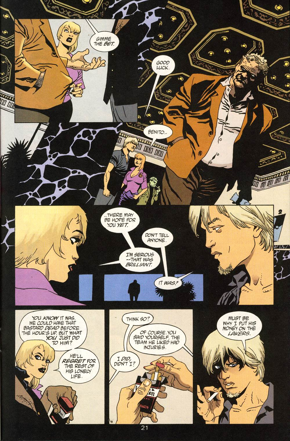 Read online 100 Bullets comic -  Issue #25 - 23