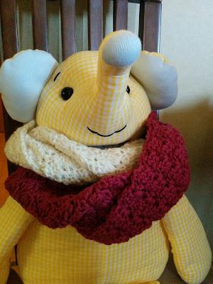 プリムローズステッチのスヌードの編み方