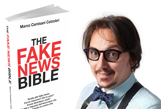 The Fake News Bible: il nuovo libro di Marco Camisani Calzolari