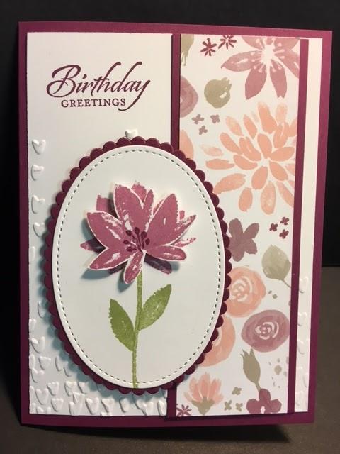 My Creative Corner Avant Garden Birthday Card 2017 Sale A Bration