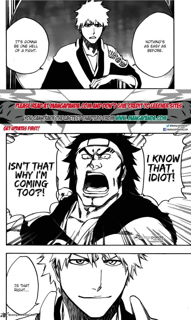 Bleach Ch 598: The Shooting Star Project