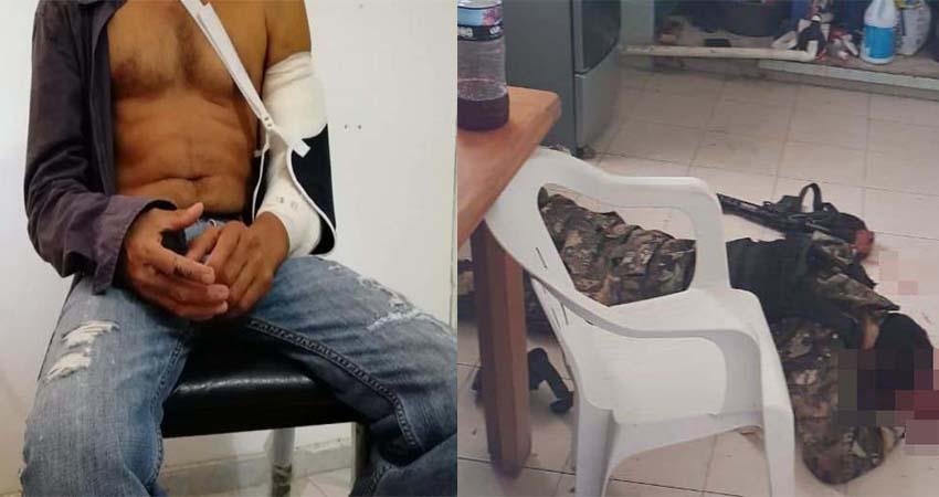 """Lo obligaron a vestirse de """"sicario empecherado"""", se hizo el muerto por horas para evitar que policías de Veracruz lo ejecutaran"""