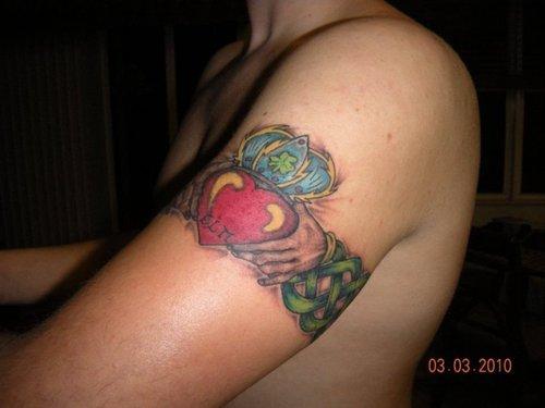 abbb8dfb0 Best Irish Claddagh Tattoo Meanings And Ideas   Best Tattoo Design