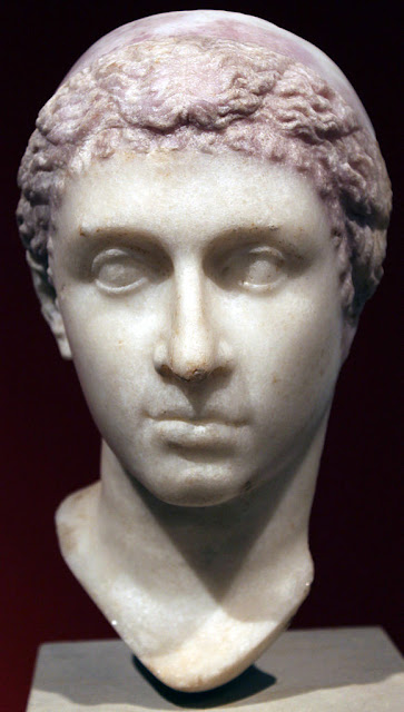 Possible portrait of Cleopatra VII in Altes Museum Berlin