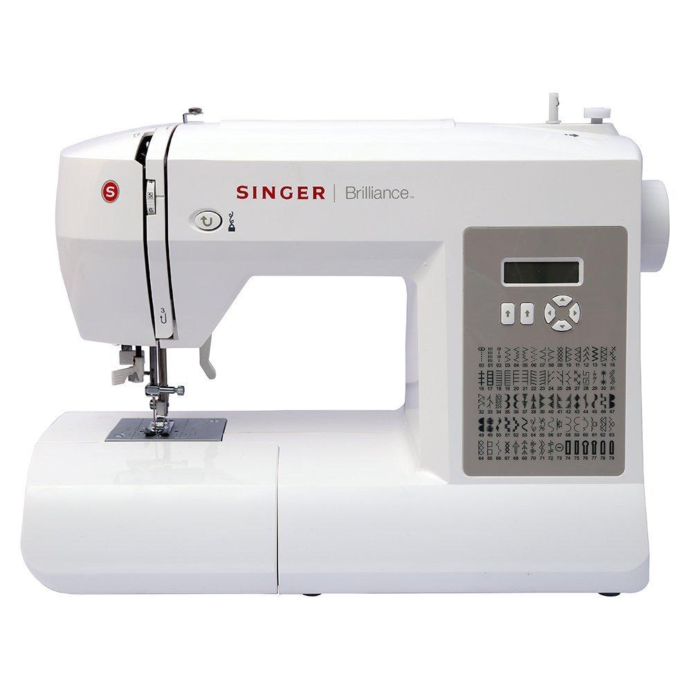7 USHA Janome Dream Stitch Automatic Zig-Zag Electric Sewing Machine (White  and Blue)