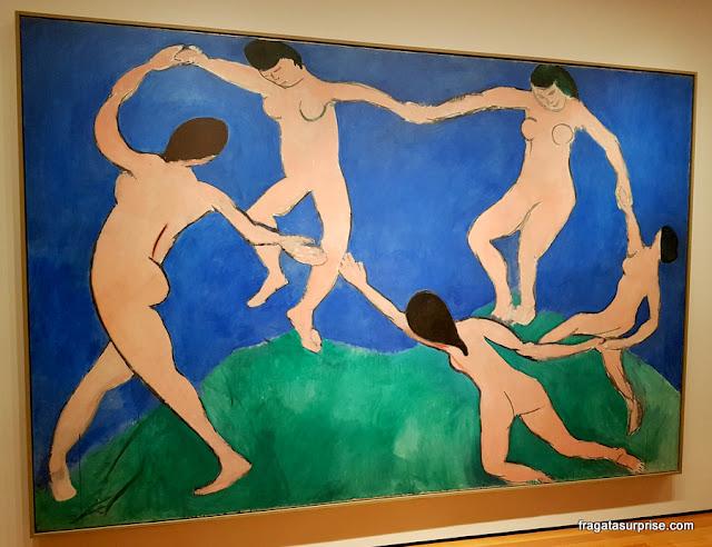 """""""A Dança"""", de Henri Matisse, MoMA, Nova York"""