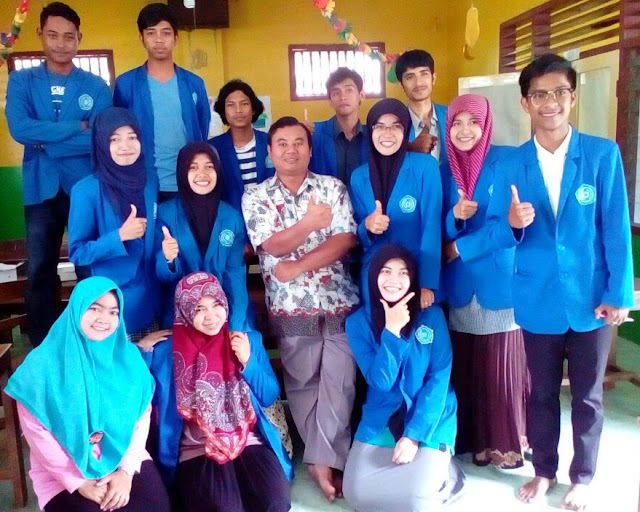 Mahasiswa Thailand Ikuti Training LKMM Unmuh di Cakru Jember