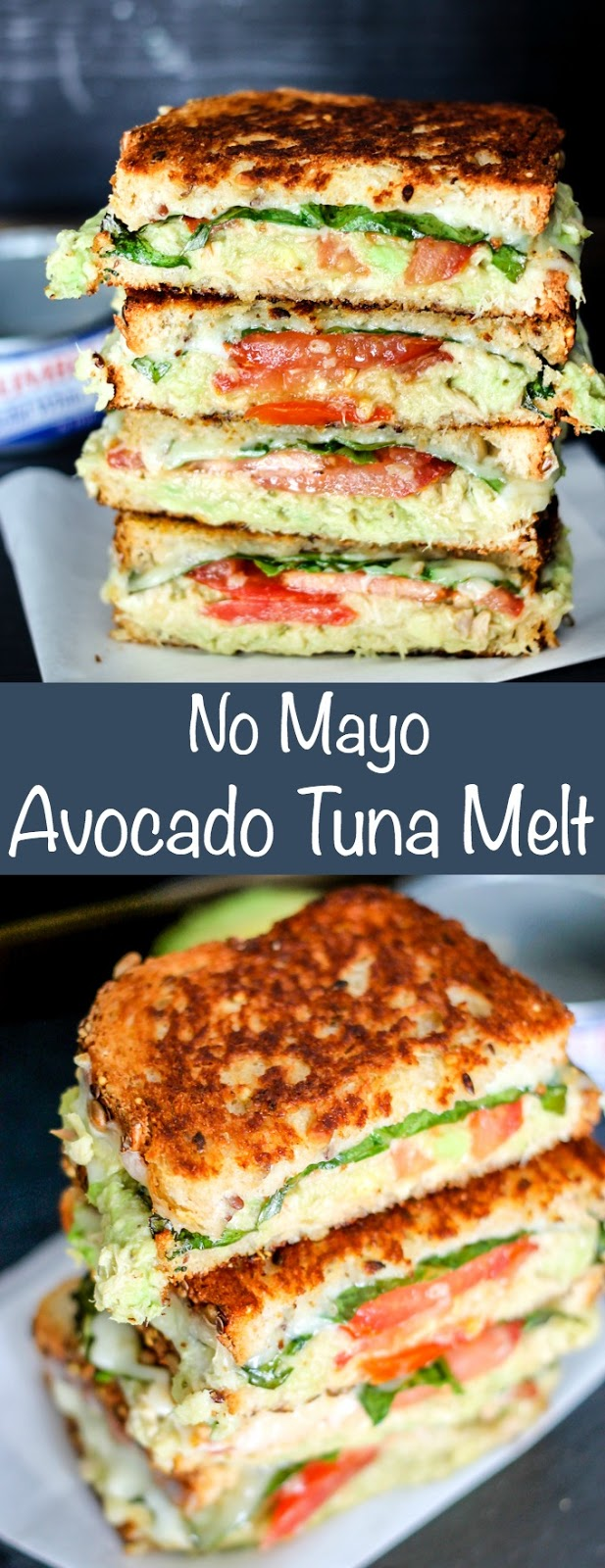 No May Avocado Tuna Melt