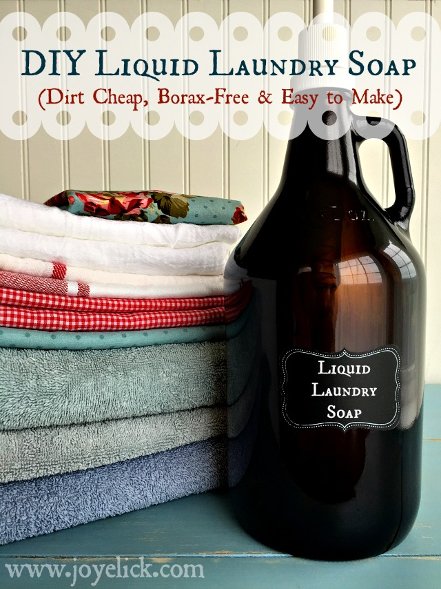 Diy borax free liquid laundry soap dirt cheap easy to make diy borax free liquid laundry soap dirt cheap easy to make solutioingenieria Image collections