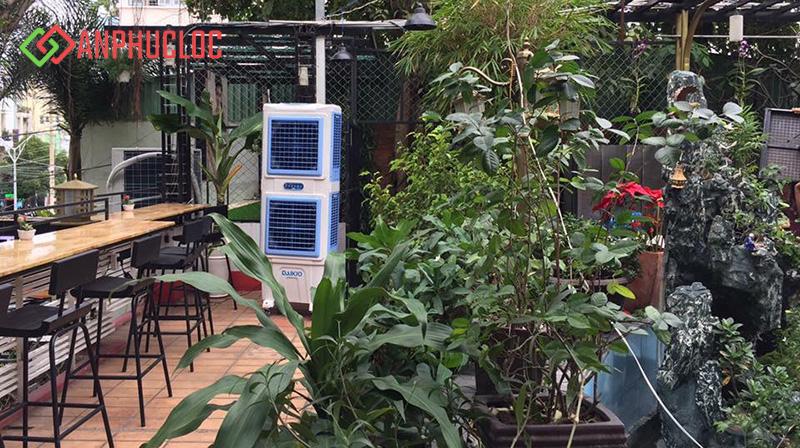 Hình ảnh lắp đặt máy làm mát Daikio DKA-10000A do An Phúc Lộc lắp đặt