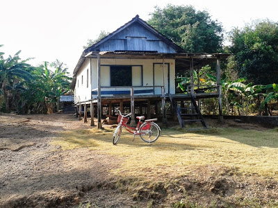 Rumah salah satu penduduk di Batulawang