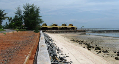 Viewpoint outlook of role of the western most beach on the due north coast of Bintan bestthailandbeaches: Bintan