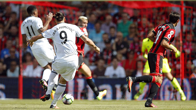 [Video] Cuplikan Gol Bournemouth 1-3 Manchester United (Liga Inggris)